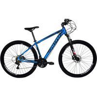 Bicicleta South Legend Aro 29 Alumínio Freio A Disco Hidráulico 24 Marchas - Unissex