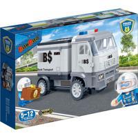 Polícia Transporte De Dinheiro 158 Peças - Banbao - Kanui