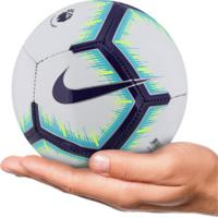 ... Minibola De Futebol De Campo Nike Premier League - Branco Roxo d5359fcf28bc2