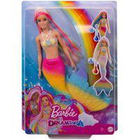 Barbie Dreamtopia Sereia Arco Íris Muda De Cor - Mattel