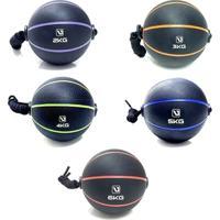 Bolas De Peso Liveup Com Corda Medicine Ball 5 Pesos - Unissex