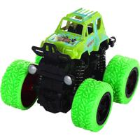 Mini Carrinho Caminhonete Com Fricção Manobras De 360° Graus – Unik Toys Verde - Kanui