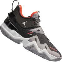 Tênis Nike Jordan Westbrook One Take - Masculino - Preto/Cinza