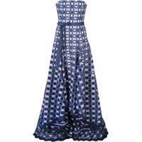 Alexis Vestido De Festa Antonia - Azul