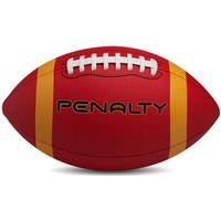 Bola De Futebol Americano Penalty - Vermelho, Amarelo E Preto