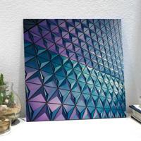 Placa Decorativa - Purple Shape