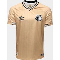 Camisa Santos Iii 2018 S/N° - Torcedor Umbro Masculina - Masculino