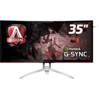 "Monitor Aoc 35"" Led Gamer Agon Ag352Ucg Preto"