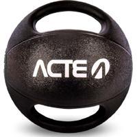Medicine Ball Com Pegada 7Kg Acte Sports T110 Preto