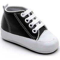 Tênis Top Franca Shoes Infantil - Unissex-Preto