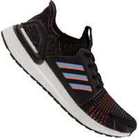 Tênis Adidas Ultraboost 19 - Masculino - Preto/Azul Cla