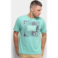 Camiseta Hd Branch Masculina - Masculino-Verde