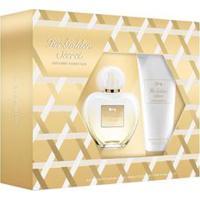 Kit Perfume Her Golden Secret Eau De Toilette 80Ml + Body Lotion 75Ml