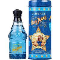 Perfume Versace Blue Jeans Eau De Toilette Masculino 75Ml