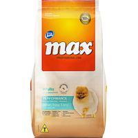 Ração Para Cães Max Professional Line Performance Adultos Raças Pequenas Sabor Cordeiro, Frango E Arroz 15Kg