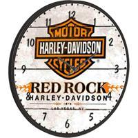 Relógio De Parede Harley Bege