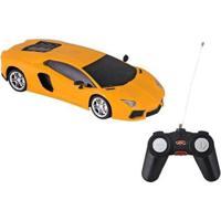 Carrinho De Controle Remoto Luxury Sports Car - Unissex-Amarelo