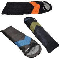 Kit 3X Sacos De Dormir Viper Tipo Envelope E Sarcófago Nautika - Unissex