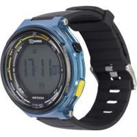 Relógio Digital X Games Xmppd575 - Masculino - Preto/Azul