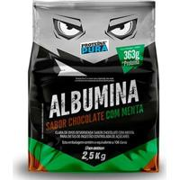 Albumina Desidratada 2,5Kg - Proteina Pura - Unissex-Chocolate+Menta