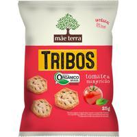 Biscoito Integral Orgânico Tribos Tomate E Manjericão Mãe Terra 25G