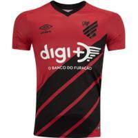 Camisa Do Athletico-Pr I 2019 Umbro - Masculina - Vermelho/Preto