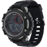 Relógio Digital X Games Xmppd519 - Masculino - Preto/Cinza
