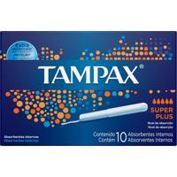 Absorvente Interno Tampax Super Plus - 10 Unidades - Kanui