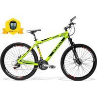 Bicicleta Gts Advanced New Aro 29 Freio A Disco Câmbio Shimano 21 Marchas E Amortecedor - Unissex