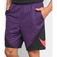 Bermuda Nike Hbr Masculina - Masculino-Roxo+Vermelho