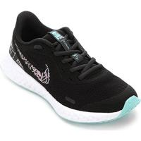 Tênis Juvenil Nike Revolution 5 Rebel Gs - Feminino-Preto+Azul