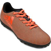 Chuteira Society Infantil Adidas X 17.4 Tf - Masculino