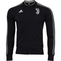 Jaqueta Juventus 18/19 Adidas - Masculina - Preto