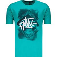 Camiseta Fatal Radio Skull Verde