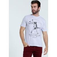 Camiseta Masculina Estampa Rock'N Roll Marisa