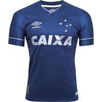 Camisa Umbro Cruzeiro Oficial Iii 2017/18 Masculina - Masculino