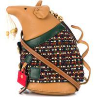Tory Burch Mouse Shoulder Bag - Marrom