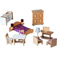Brinquedo Bohney Kit De Móveis Multicolorido - Tricae