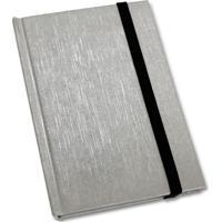 Caderneta De Anotações 9,7X14,5Cm 80 Folhas Topget Pautadas - Cromado