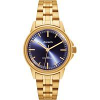Relógio Akium Feminino Aço Dourado - Tml7088N1B