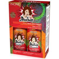Kit Shampoo Inoar Bombar + Condicionador 250Ml