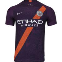 Camisa Manchester City 18/19 Iii Nike - Masculina - Roxo
