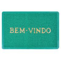 Tapete Capacho Vinil Verde 1,00M X 1,20M