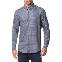 Camisa Regular Ml Sport Xadrez - Marinho - 6