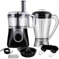 Multiprocessador De Alimentos Philco All In One 4 Em 1 800W 220 Volts