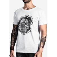 Camiseta Wood Print 100529