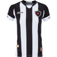 Camisa Do Botafogo-Pb I 2020 Nº 10 Belo - Feminina - Preto/Branco