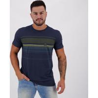 Camiseta Hang Loose Silk Stripe Azul