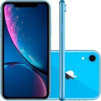 Smartphone Apple Iphone Xr 128Gb Desbloqueado Azul