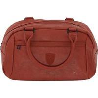 Bolsa Puma Sf Ls Handbag - Feminino-Vermelho